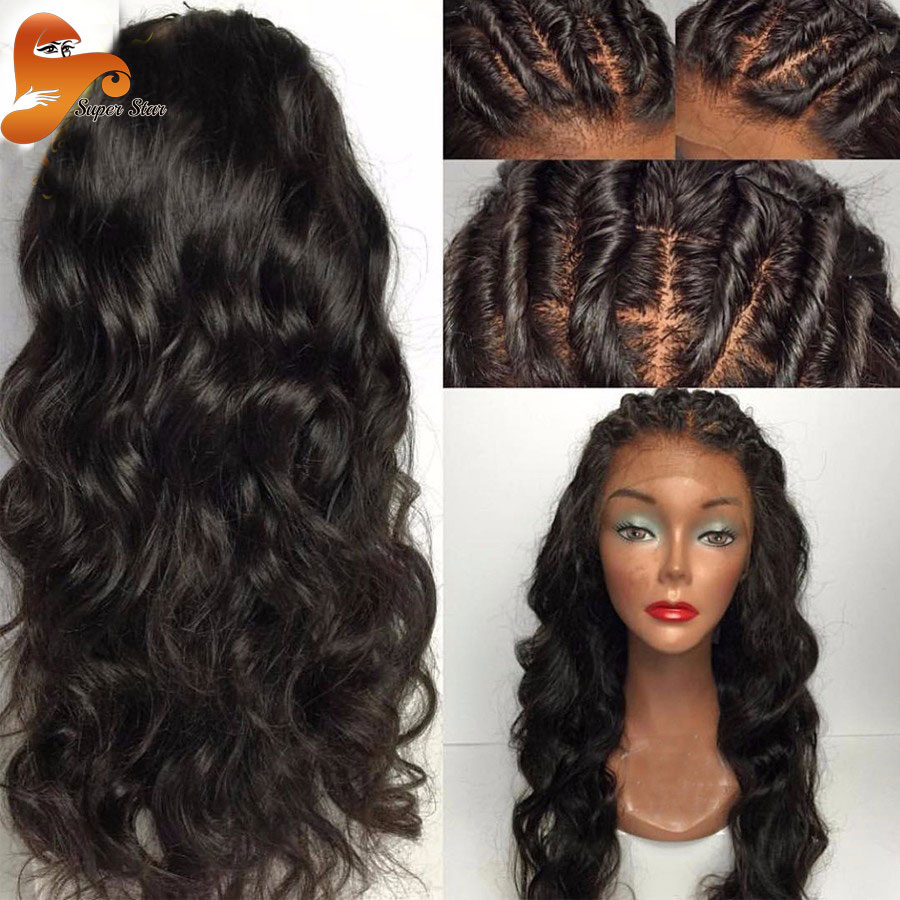 8A Best Silk Top Full Lace Wigs Brazilian Virgin Hair Body Wave Glueless  Silk Top Lace Front Wigs 100% Human Hair Silk Base Wig-in Human Hair Lace  Wigs from ... cb25232f71