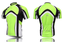 Top selling!! Green Cycling Bike Short Sleeve Top Shirt Clothing Bicycle Sportwear Jersey S-4XL
