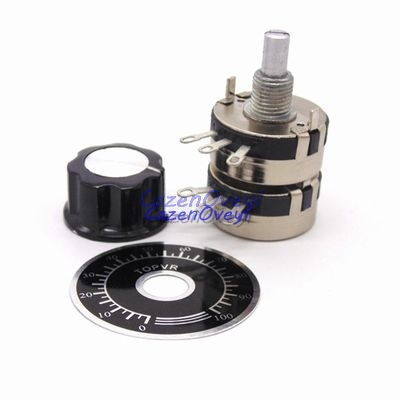 1pcs/lot 1 Set WTH118 DIY Kit Parts 2W 1A Potentiometer 1K 2.2K 4.7K 10K 22K 47K 100K 470K 1M In Stock