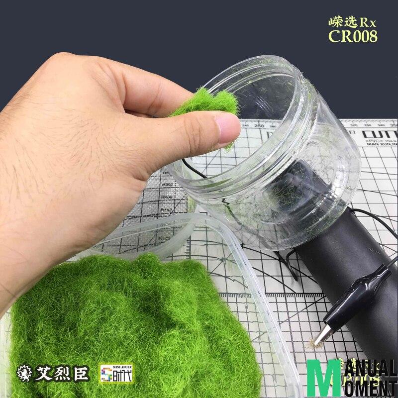 Miniature Scène Modèle Materia Flocage Statique Herbe Applicateur Modélisation Hobby Craft Accessoire