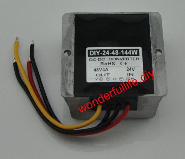 DC Converter Module 24V(20-35V) Step up to 48V 3A 144W power adaptor Regulator