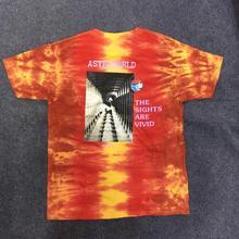 Astroworld TShirt Men Women Travis Scott Festival  Run Tie Dye Tee Aliens Screamer Vetements 19ss ASTROWORLD Oversized T Shirt