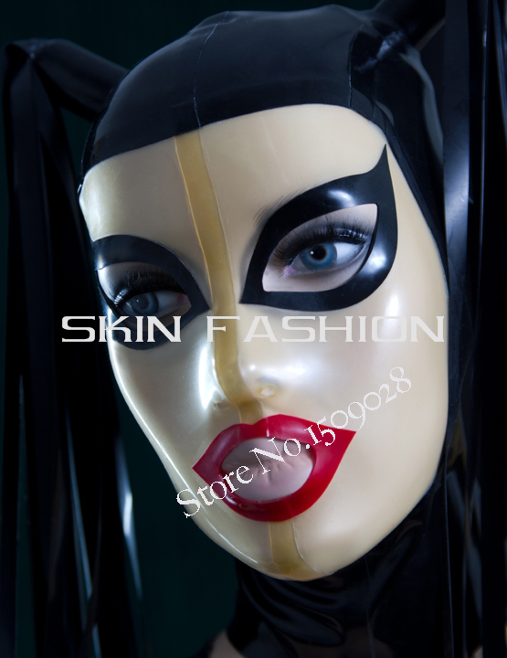 Free shipping ox horn braid hood latex masken in costume ox horn braid hood latex masken in costume accessories from novelty special use on aliexpress alibaba group ccuart Image collections