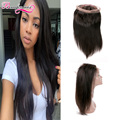 8A Malaysian 360 Lace Virgin Hair Frontal Straight Hair Malaysian 360 Lace Frontal Closure Weave Hair Human Hair Wigs Extensions