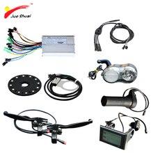 Электрический велосипед 36/48V 500W контроллер ЖК-дисплей Дисплей датчик гидроусилителя рулевого управления 12 магнитов Прохладный дроссельной заслонки для е-байка Запчасти с водонепроницаемый коннектор для кабеля