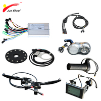Electric Bicycle 36/48V 500W Controller LCD Display PAS sensor 12 Magnets cool Throttle for E bike Parts with waterproof cable