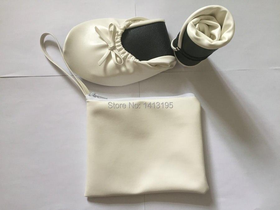 Blanc Livraison Gratuite Chaussures Pliable Lady Pour Mariage De Ballerines Cadeau Fashion Ballerine ZqSqBwfx