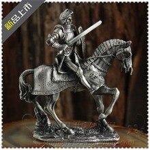 Medieval European Knights tin samurai warrior doll cavalry soldier soldier tin ornaments the tin soldier