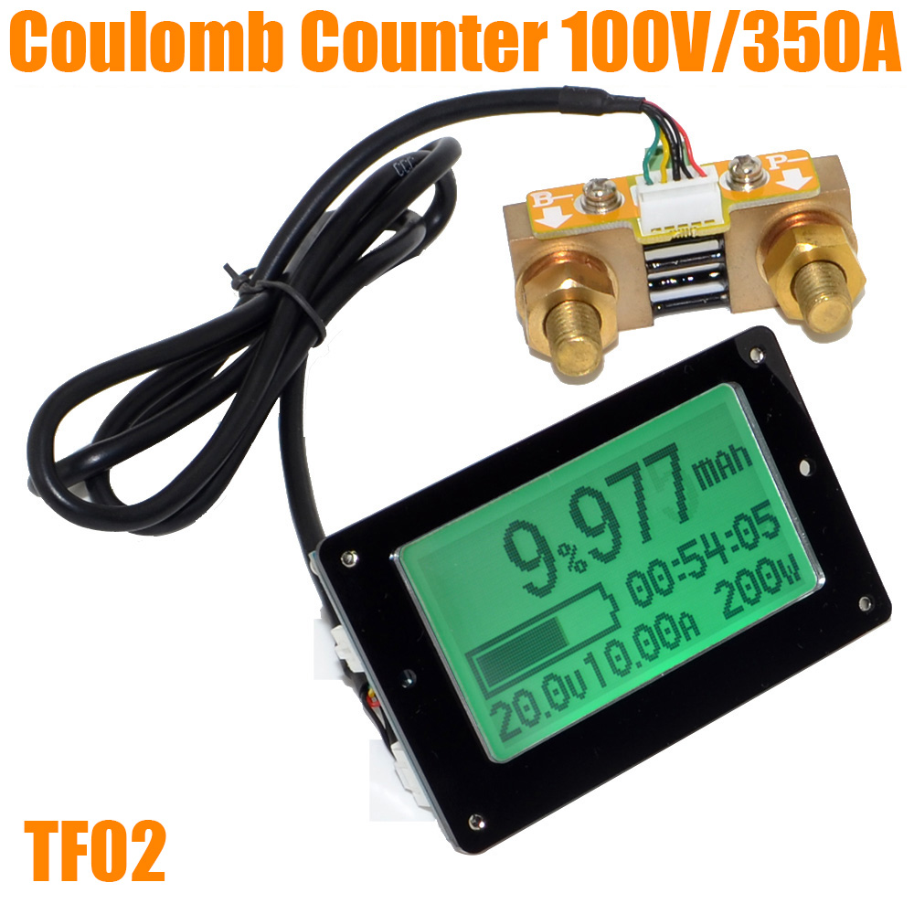 Tools Battery Testers Ootdty Capacity Tester Indicator Coulometer 8v-50v 12v 50a Lithium Lead-acid Battery Drop Ship