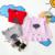 Bebê Crianças Malha Pullover O-pescoço Blusas de Colarinho Primavera Outono Crianças Roupas Nuvem de Chuva Vestuário Padrão Meninas 5 pçs/lote