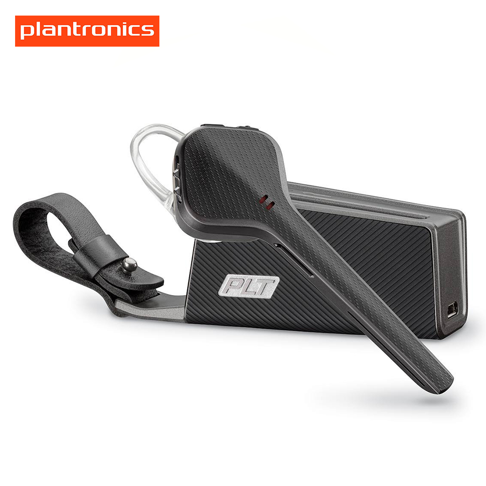 Bluetooth Headset Plantronics Voyager 3240 Noise Reduction Mono Earphone With Charging Case 10