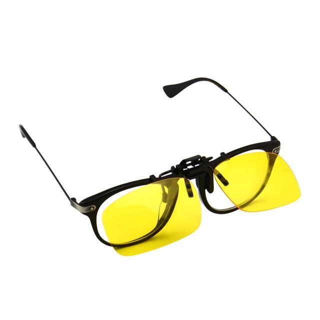 85dfb5c6fd Polarized Clip Sunglasses Driving Night Vision Lens Sun Glasses Male  Anti-UVA UVB For Men Women 2 Size