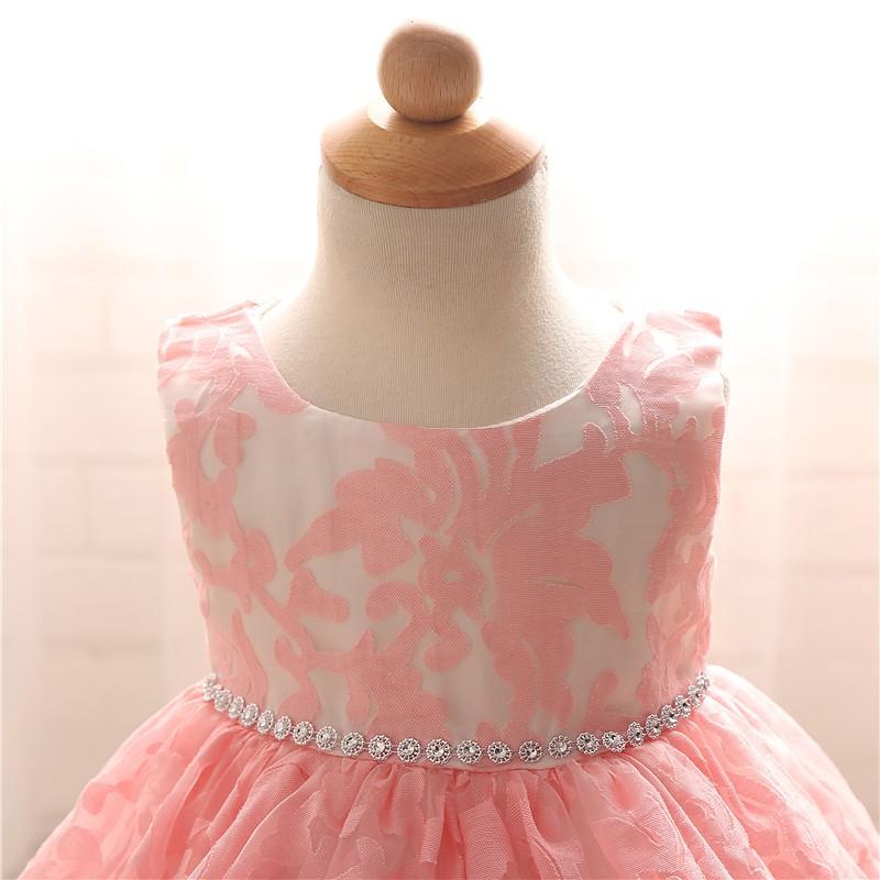 Newborn Bow Dress Baby Girl (10)