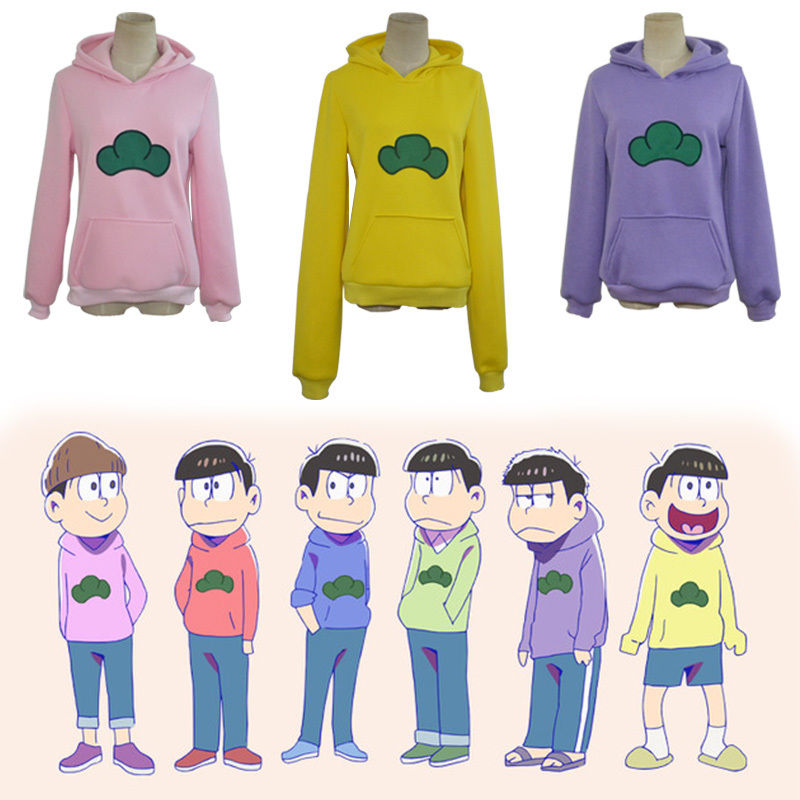 Mr Osomatsusan Cosplay Japanese Anime Hoodie Sweater Thickening Osomatsu san Costume Coat Sweatshirts-in Anime Costumes from Novelty & Special Use