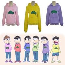 Mr Osomatsusan Cosplay Japanischen Anime Hoodie Pullover Verdickung Osomatsu san Kostüm Mantel Sweatshirts