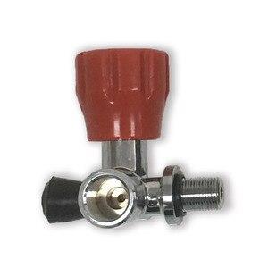 Image 3 - Клапан высокого давления AC911 для пневматической винтовки PCP, для пейнтбола, красного цвета, для резервуара из углеродного волокна, для стрельбы, PCP цилиндр Acecare