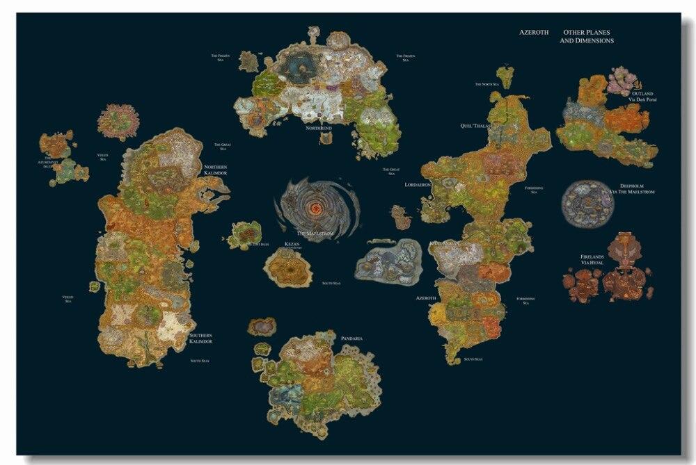 карте на как вов играть