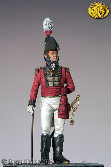 Napoleonic era British naval mate 54mm-in Action & Toy