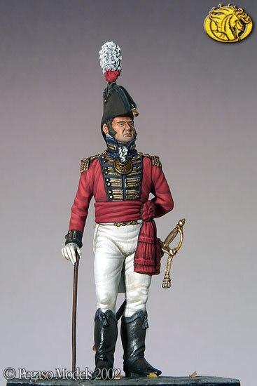 Napoleonic era British naval mate 54mm