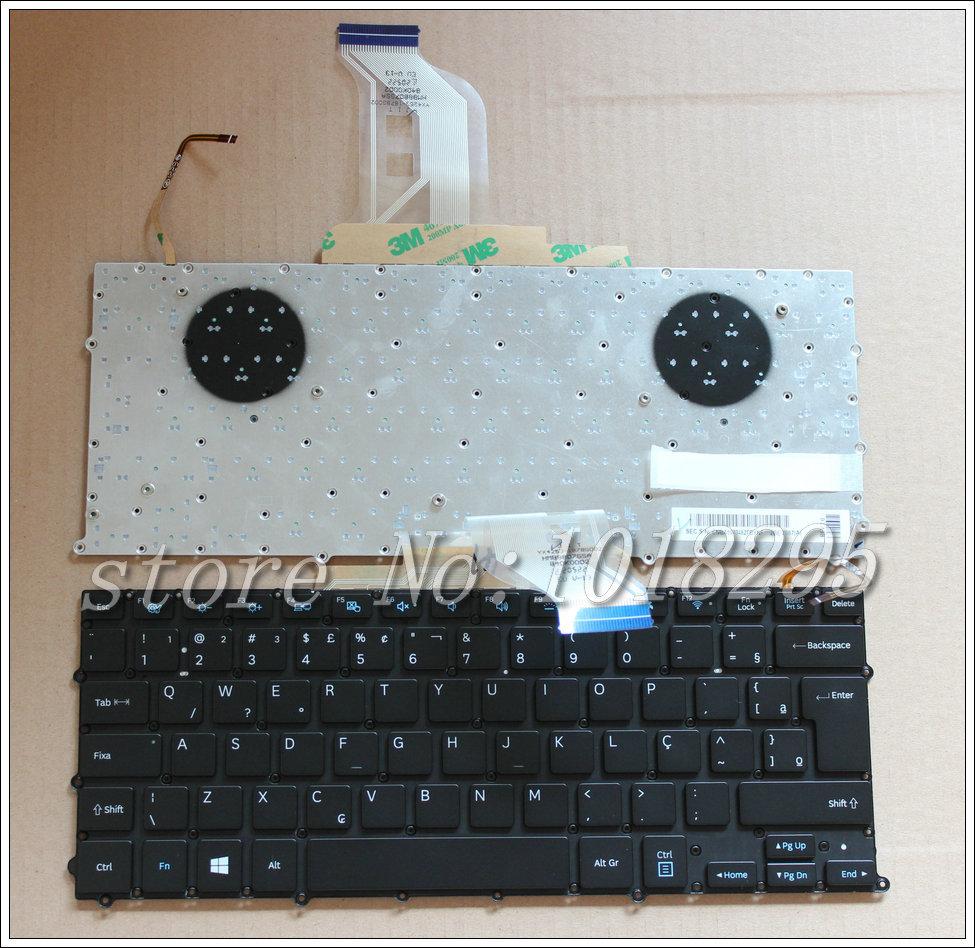 Prix pour Nouveau pour samsung np 900x3b 900x3c 900x3d 900x3e clavier d'ordinateur portable rétro-éclairé br brésil no frame big entrer