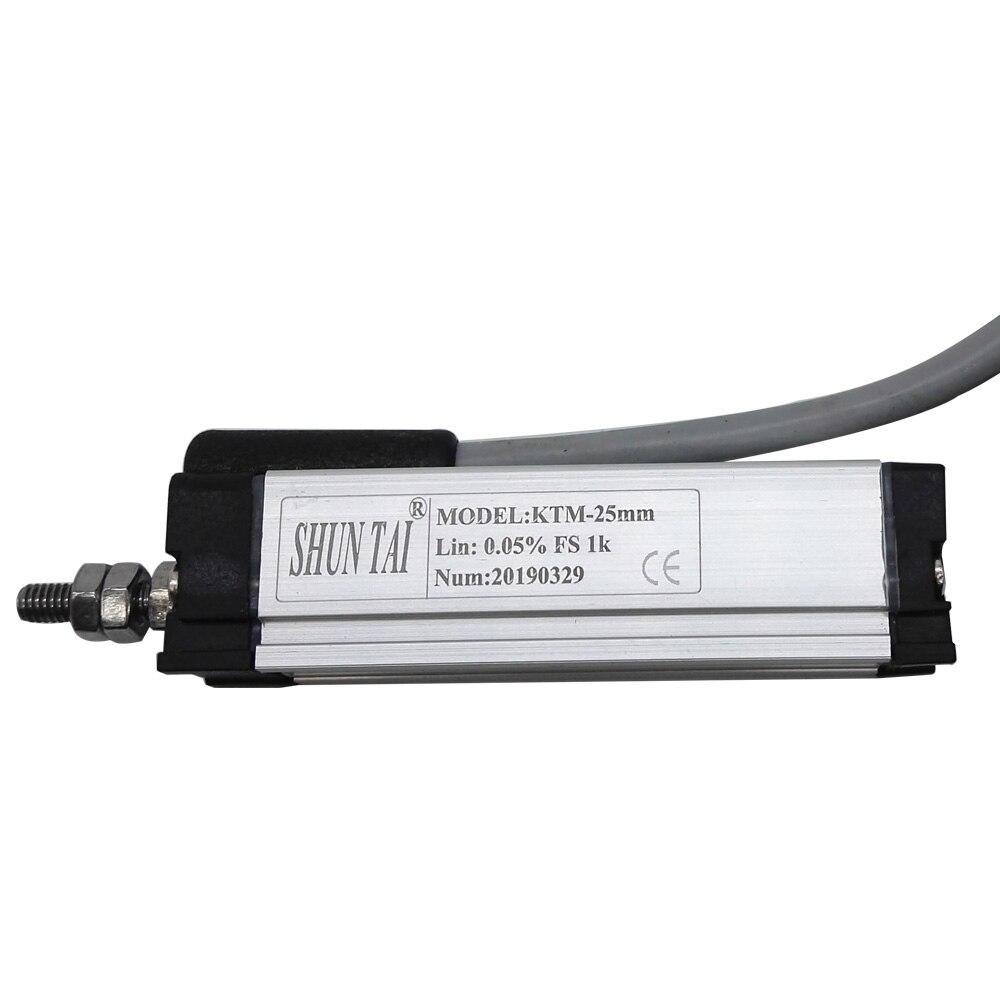 Mini KTM-25MM 10mm 15mm voyage règle électronique déplacement linéaire capteur LVDT pour machine de moulage par Injection