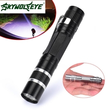 MA 6 Shining Hot Selling Fast Shipping  Mini 1200LM High Power Torch Cree Q5 LED Tactical Flashlight AA Lamp Light