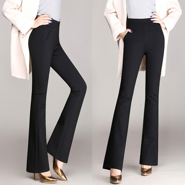 Plus Size Trousers Women Pants 2018 Spring Winter Casual Ol Formal