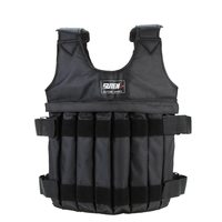 Max Loading 20kg Adjustable Weighted Vest For Boxing Training Equipment Exercise Waistcoat Weightloading Sand Clothing Empty