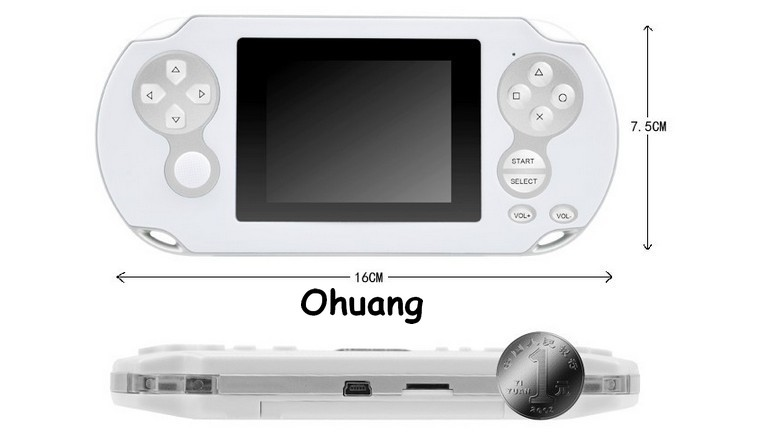 Analoge Steuerung Videospiel-konsole Mit 2000 Mp5 3 tft-bildschirm Ehrlichkeit Pmp Iv 32bit Mp3 Mp4 Tv Out, Spiele Fm