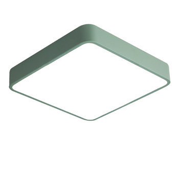Modern simple LED square Ceiling Lamp Kitchen Bedroom only 5cm height colorful lamparas techo House Lighting Fixture