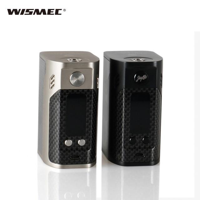 Оригинальный wismec Рел RX300 TC поле mod-углерода Волокно требует 18650 Батарея wismec RX300 Quad 18650 Батареи мир майка