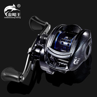 2019 Fishband New Baitcasting Reel GH100 GH150 8.1:1 Left/Right Hand Light Bait Casting Reel For Tilapia Perch Trout Fishing