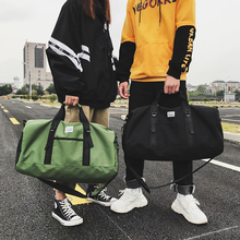 цены 2019 New Large Capacity Men Trainning Travel Duffle Bags Women Hand Luggage bags Multifunctional Unisex Army Green Weekend Bags