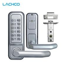 LACHCO механический кодовый замок цифровая техника клавиатура пароль дверной замок нержавеющая сталь защелка цинковый сплав серебро L17008