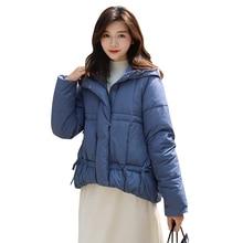 купить Winter Down Cotton Jacket Women Parka Warm Thick Abrigo Mujer Coat Women Outerwear Plus Size Down Jacket Woman Hooded Coat по цене 1287.64 рублей