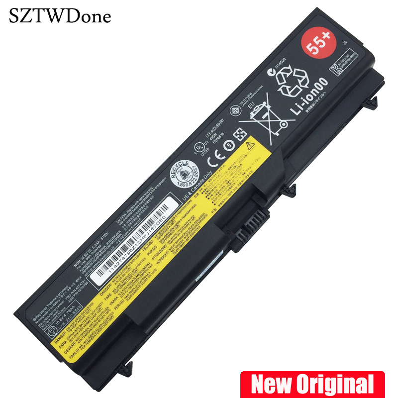 New Original Laptop battery for LENOVO ThinkPad E40 E50 E420 E520 SL410 SL510 T410 T510 T420  E425 E525 L410 L412 L512 аккумулятор tempo t510 11 1v 4400mah для ibm lenovo thinkpad sl410 sl510 sl520 t410 i5 t410 i7 t420 t510 t520 w510 w520 e40 e50 edge e420 e425 e520 e525 series