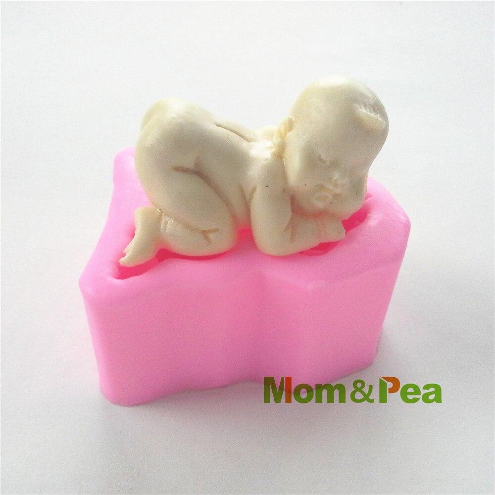 Мама и гороха 0422 Бесплатная доставка для маленьких мальчиков силиконовые Мыло формы украшения торта помадка торт 3D формы Еда Класс силикон...