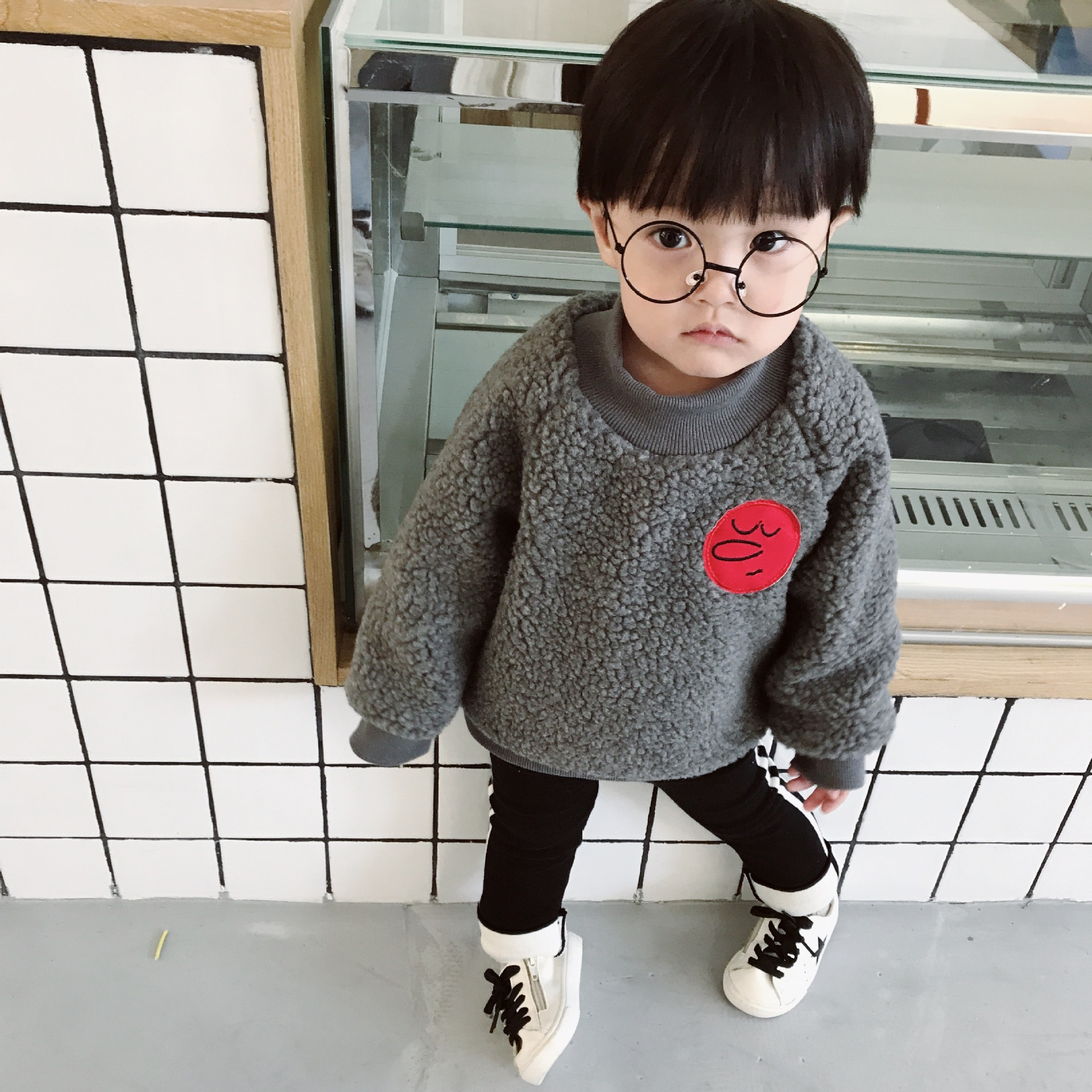 Boys T shirt 1 4 Year Old Baby Infant Girls Clothes Cotton Sweater