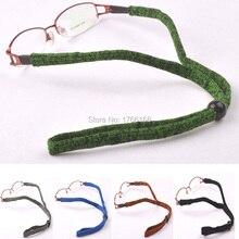 Groothandel 20 stks elastische brillen sporttas cord outdoor verstelbare zon bril sport elastische band strap head band
