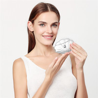 EMS Ion Microcurrent Vibration Electric Face Neck Massager For Skin Lifting Anti Age V Face Lift