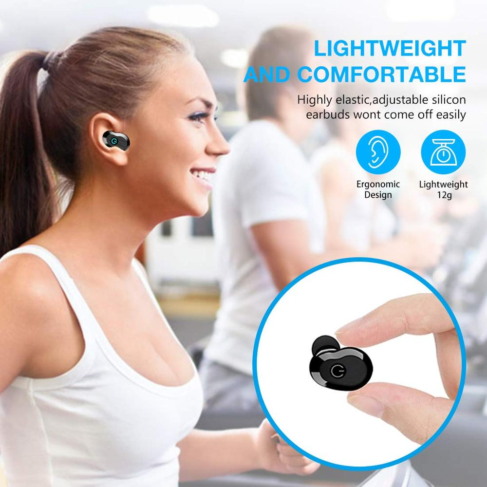 Image 2 - WA02 TWS 5.0 Bluetooth Earphone IPX7 waterproof Sports True Wireless Earbuds HiFi Stereo Sound Wireless headphones for phone-in Bluetooth Earphones & Headphones from Consumer Electronics