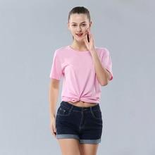 2019 summer tshirt Unisex T-Shirt harajuku Vintage T shirt Adult pink Tshirt casual Solid color cotton Men Women tees tops