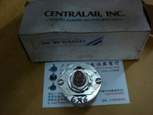 CENTRALAB 6 foot silver-plated knife X6 band switch gear