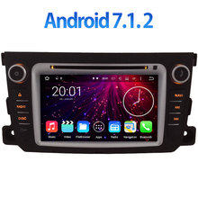 Android 7.1.2 WIFI Quad Core GPS Navigation 7″ Car DVD Multimedia player radio for Benz Smart Fortwo 2011-2014