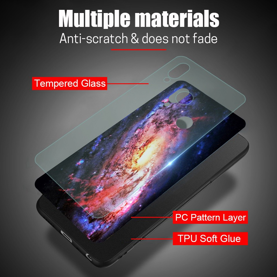 Glass Case For Huwei P20 Lite Nove 3 2i Silicone Anime Case For Huawei Honor Play 9 7A Mate 10 20 Lite P20 Pro P Smart Y6 2018   (4)