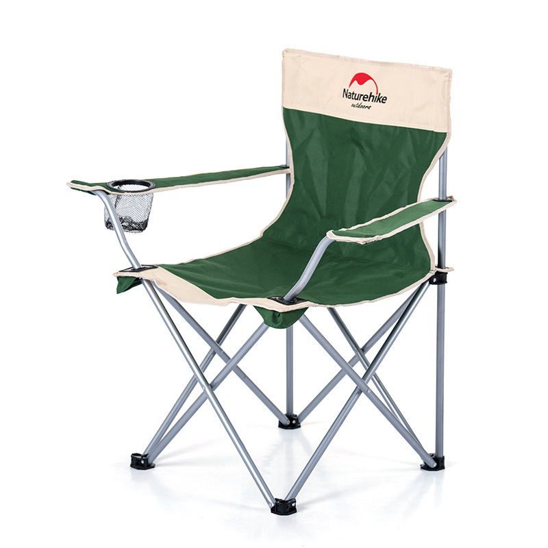 Outdoor Folding Beach Chairs Portable Painting Sketch Stool Brackrest Armrest Double Folding Fishing Chair 600D Oxford Cloth купить