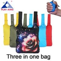 ABSPIELENKING tier druck rucksack frauen schule rucksäcke reisetasche faltbare nylon wandern camping tasche wasserdichten outdoor-mann