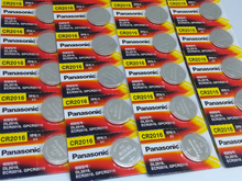 30pcs/lot New Original Battery For Panasonic CR2016 3V Button Cell Coin Batteries Watch Computer CR 2016