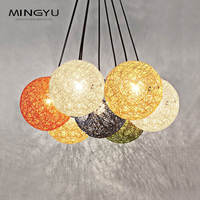 Creative Colorful Ball Chandelier Modern Pendant Lamps Lights Fixtures