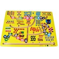 Big Size 1 20 Numbers Matching Slide Game Board Math Rail Maze Intelligence Toys 1 3